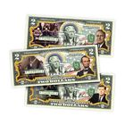 US Presidents Enhanced 2 Bill Collection 5921 001 3 2
