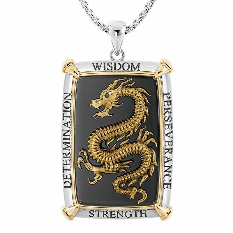 Might of the Dragon Son Diamond Pendant 6460 001 8 1