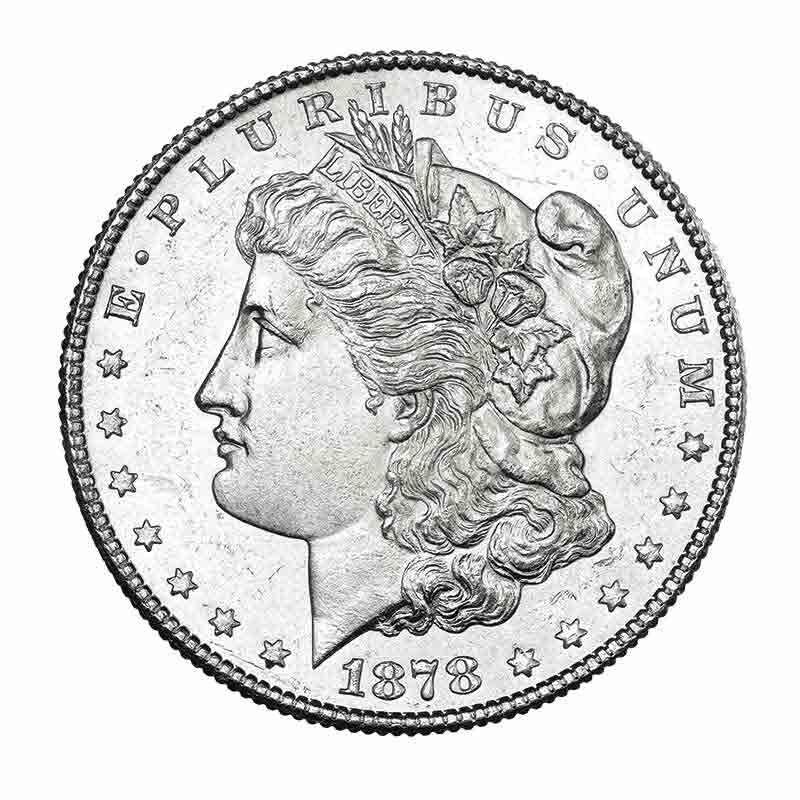 Uncirculated Morgan Silver Dollars 9719 007 8 1