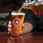 The Personalized Set of Four Pint Glasses 5677 001 9 2