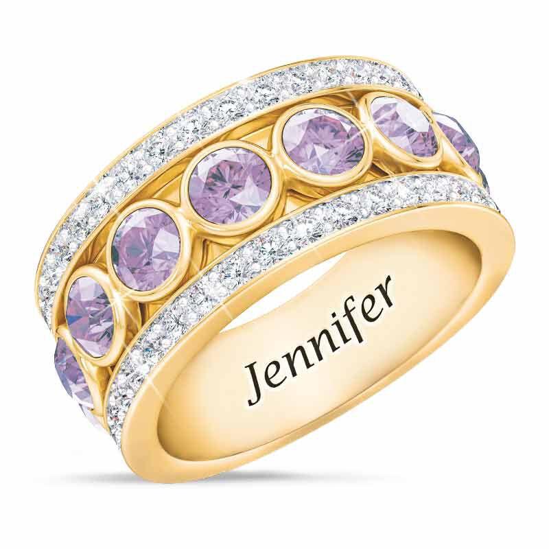 Birthstone Spinner Ring 1522 001 5 6