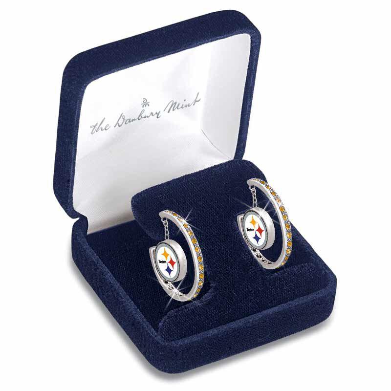 Steelers Inside Out Hoop Earrings 1031 003 5 2