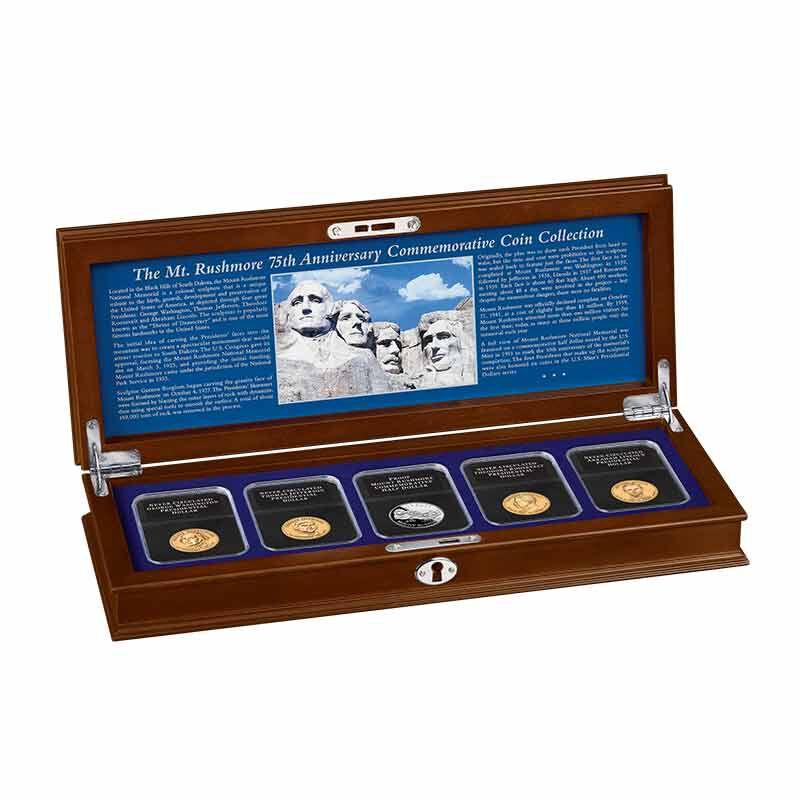 Mount Rushmore 75th Anniversary Commemorative Coin Collection 5127 001 5 8