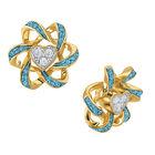 Birthstone Beauty Heart Earrings 2627 0066 l december