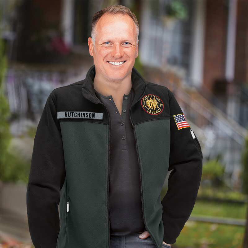 The US Veteran Fleece jacket 1666 001 1 3