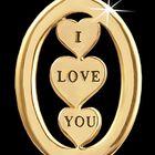 Granddaughter I Love You Diamond Earrings 5185 002 2 2