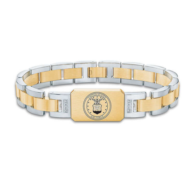 Personalized Air Force Bracelet 6449 005 5 1