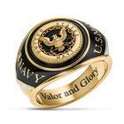 Military Onyx Diamond Ring 6282 0022 a main