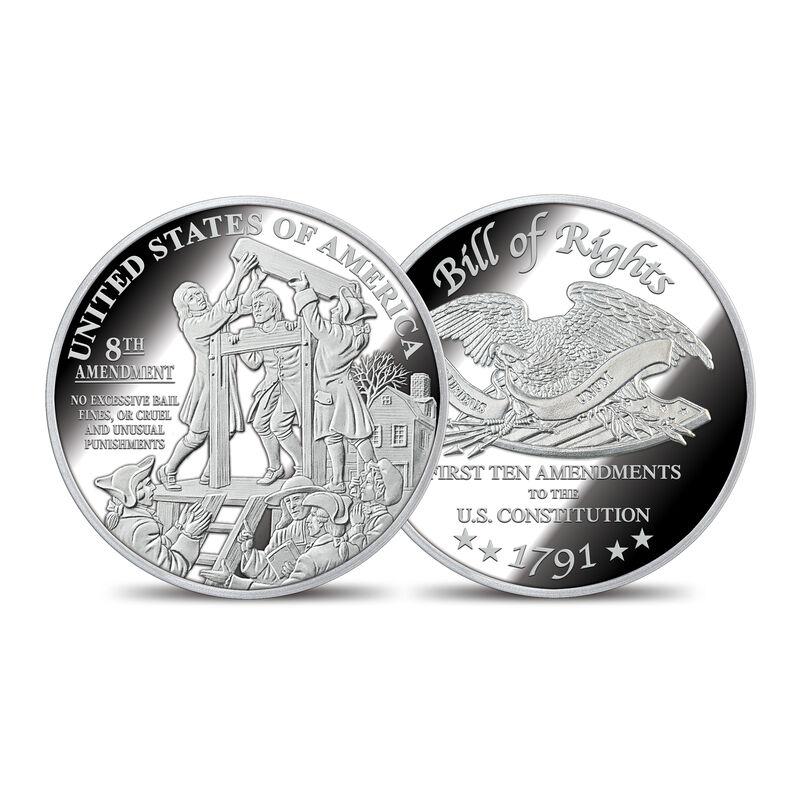 The Bill of Rights Silver Bullion Commemoratives 6530 0022 f commemorative8