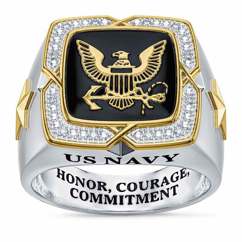 Americas Finest US Navy Ring 6665 002 9 2