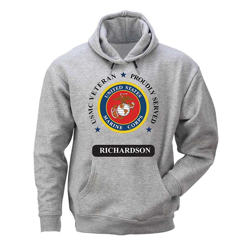 The Personalized US Marines Mens Hoodie 6297 004 1 1