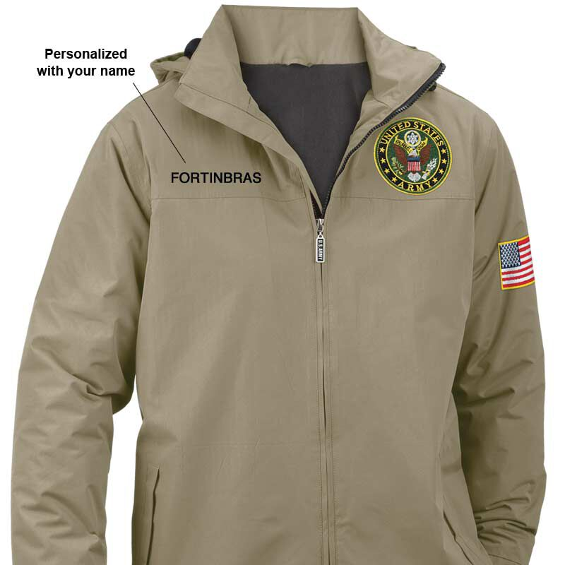 Personalized US Army All Weather Jacket 5632 001 3 1