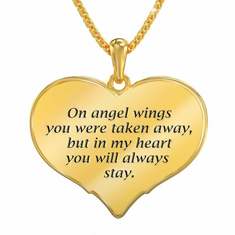 On Angel Wings Remembrance Pendant 6479 001 7 2