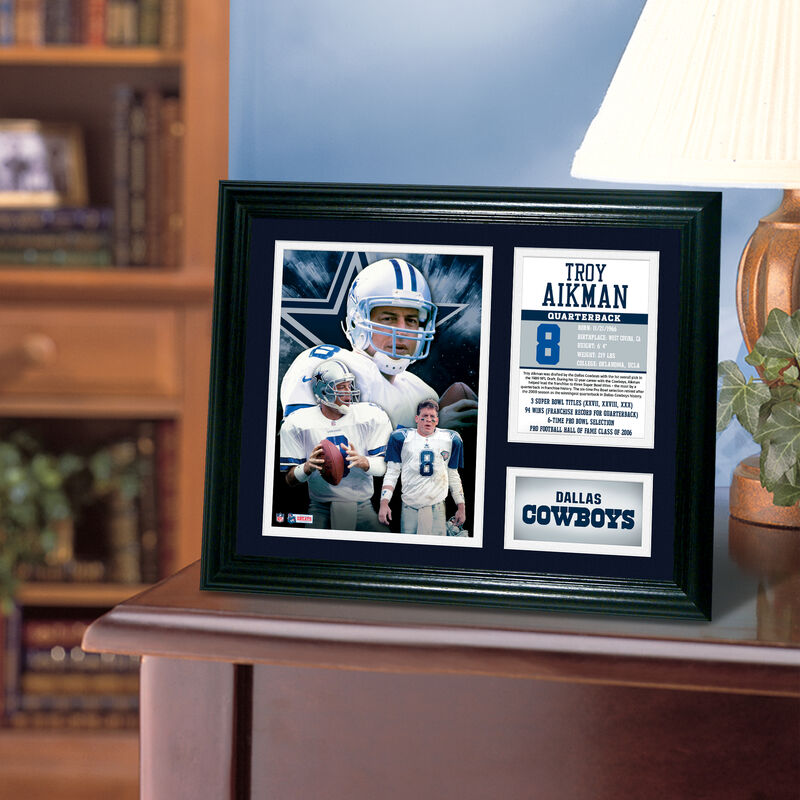 Troy Aikman Framed Photo Collage 4391 1650 n room