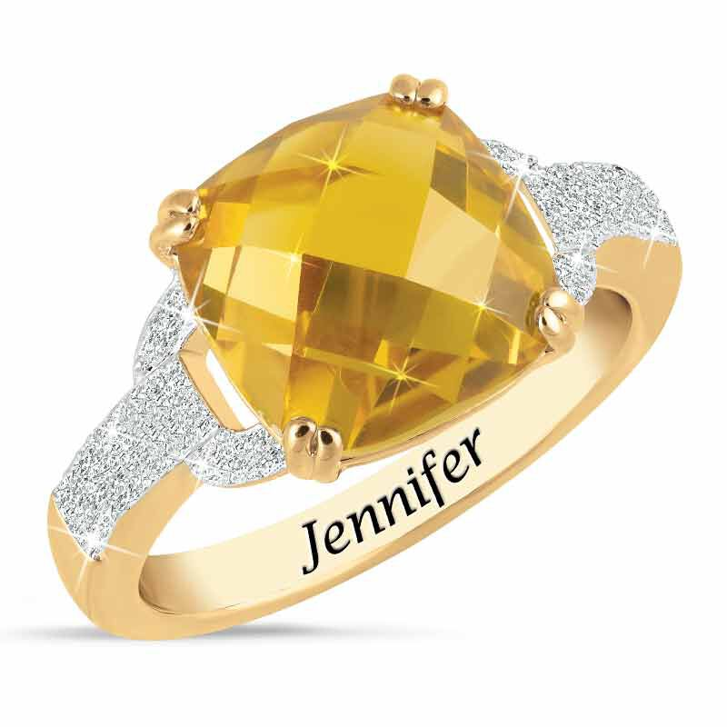 Birthstone  Diamond Ring 1159 001 5 11