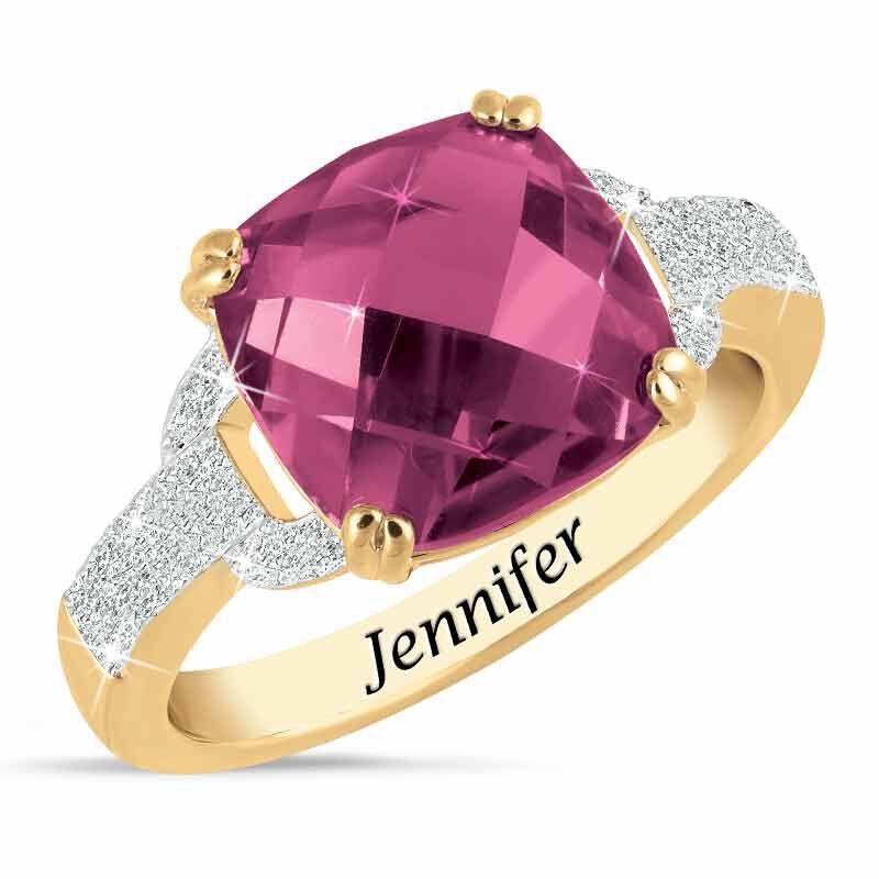 Birthstone  Diamond Ring 1159 001 5 6