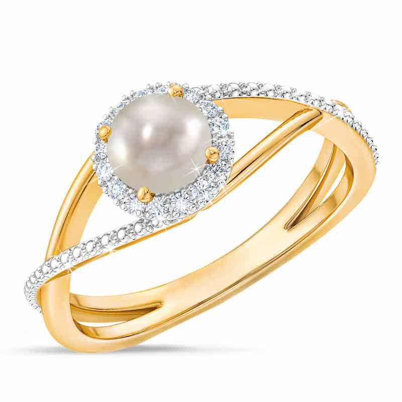 Birthstone  Diamond Ring 1099 001 8 6