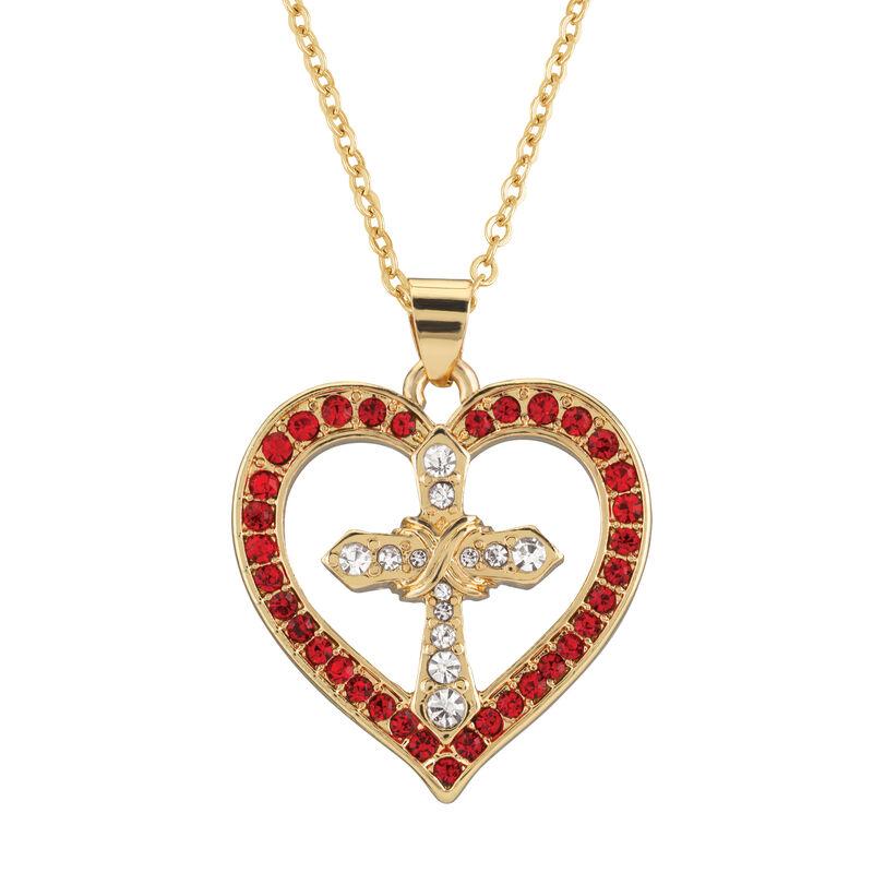 Year of Cheer Faith Love Pendants 10358 0015 b february