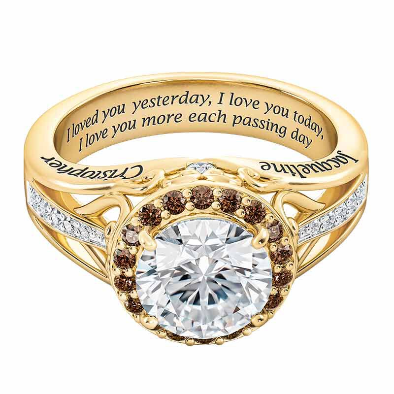Once Upon A Love Story Personalized Couples Ring 6239 001 8 2