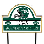 NFL Pride Personalized Address Plaques 5463 0405 a jets