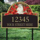 The Captivating Kitties Address Plaque by Simon Mendez 1088 010 2 2