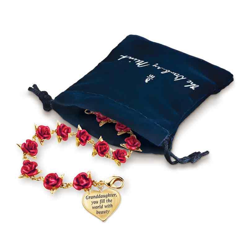 Dozen Roses Granddaughter Bracelet 1519 001 0 4