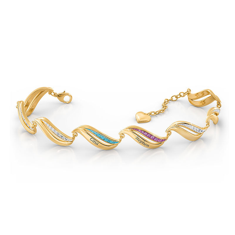 Birthstone Wave Bracelet 2456 006 2 2