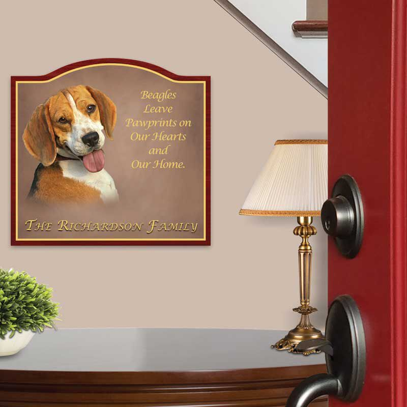The Dog Welcome Sign 1473 004 8 2
