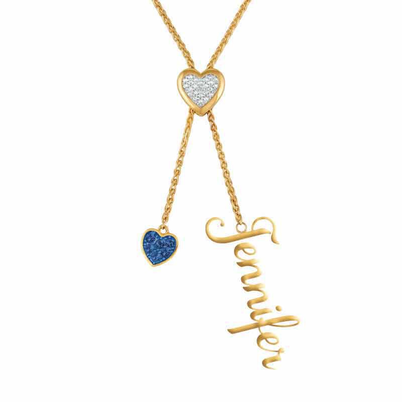 Daughter Personalized Birthstone Bolo Necklace 6525 001 1 3