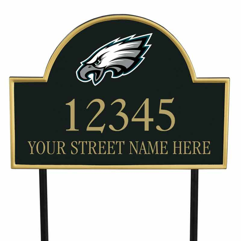 The NFL Personalized Address Plaque 5463 0355 n eagles