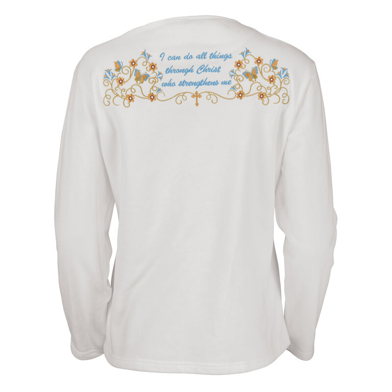 I Can Do All Things Personalized Cardigan 10120 0012 b back