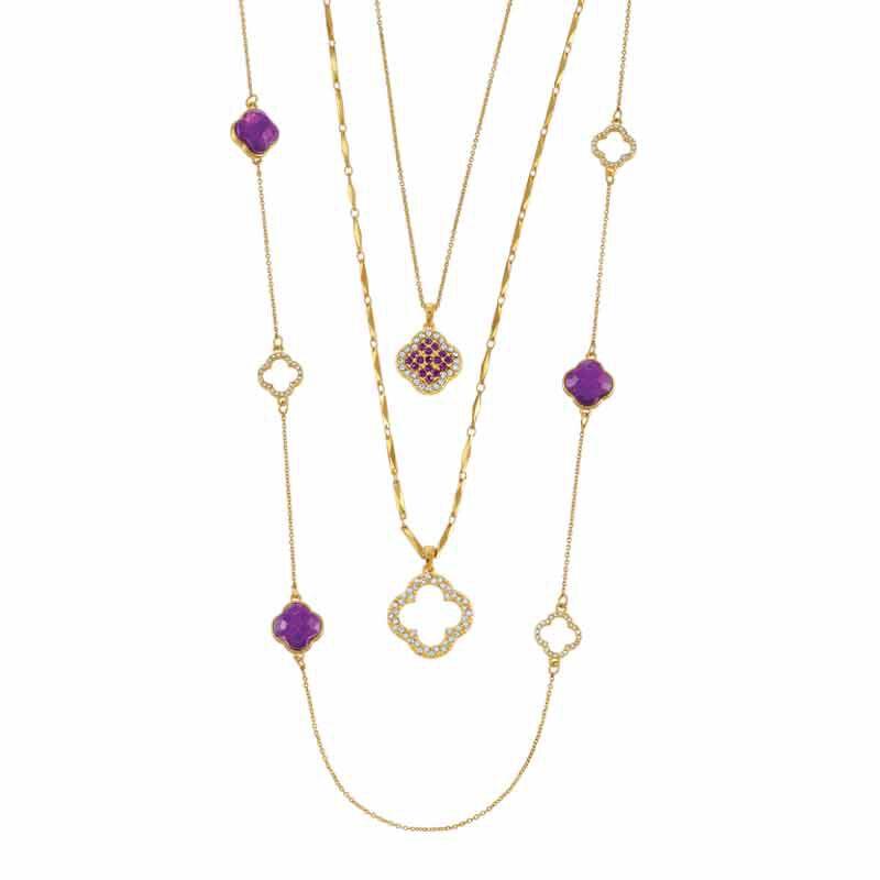 Birthstone Beauty Layered Necklace Set 6594 001 7 2
