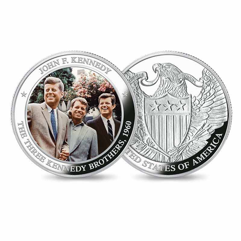 The John F Kennedy Silver Commemoratives Collection 6139 001 9 3