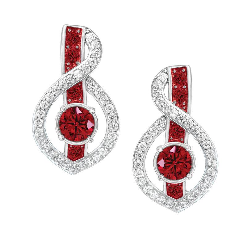 Birthstone Wave Earrings 2202 0069 a main