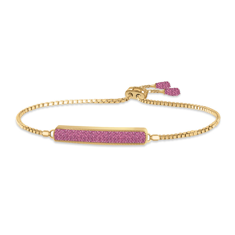 Birthstone Bolo Bracelet 6501 0027 j ocotober