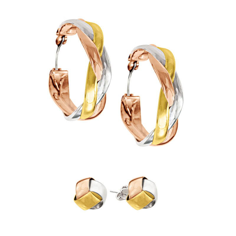 Healthy Wealthy and Wise Copper Earring Set 6363 0024 a main