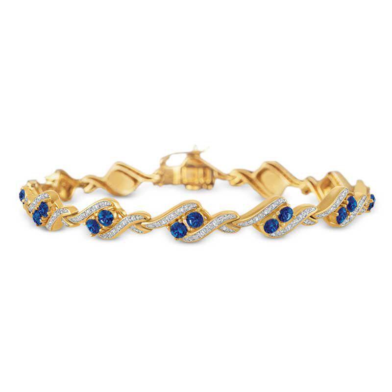 Birthstone  Diamond Bracelet 6321 001 7 9