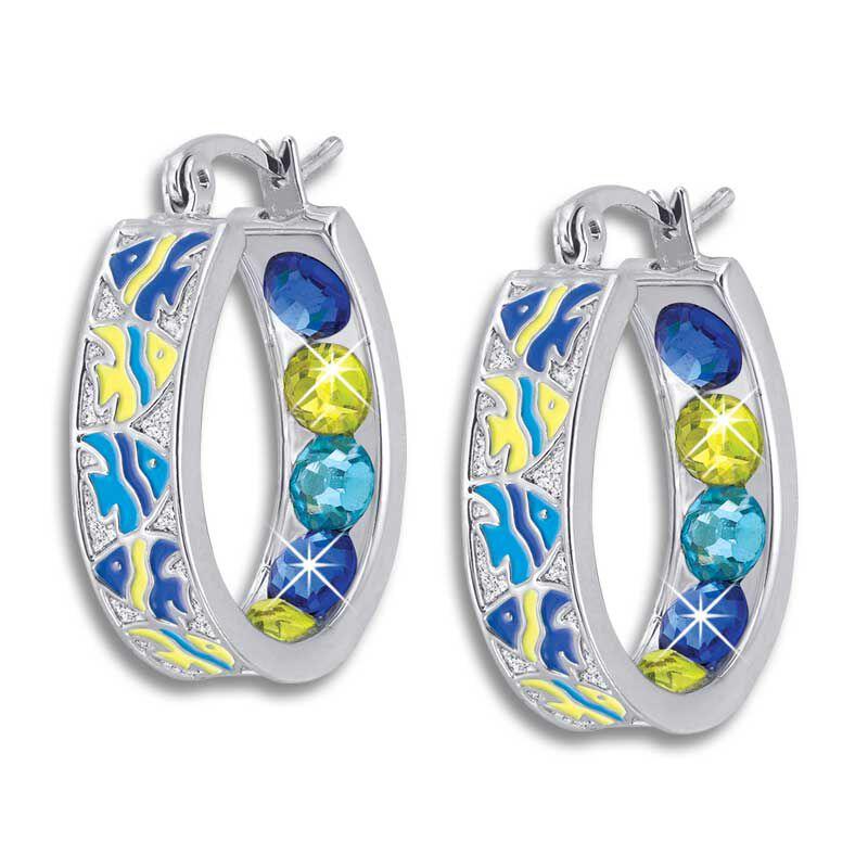 Crystal Celebrations Hoop Earrings 4608 002 4 1