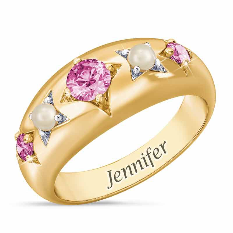 Royal Radiance Personalized Birthstone Ring 1906 001 1 10