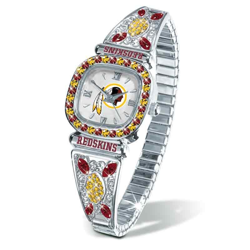 The Washington Redskins Womens Stretch Watch 4576 016 2 1
