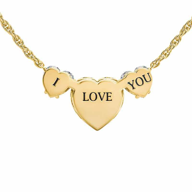 Forever I Love You Necklace 6398 001 5 4