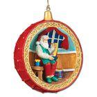 Santa at the North Pole Ornament Collection 5599 001 4 1