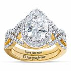 My Forever Promise Diamonisse Ring Set 2775 005 8 1