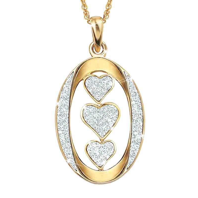 My Daughter I Love You Diamond Pendant 2965 015 7 2