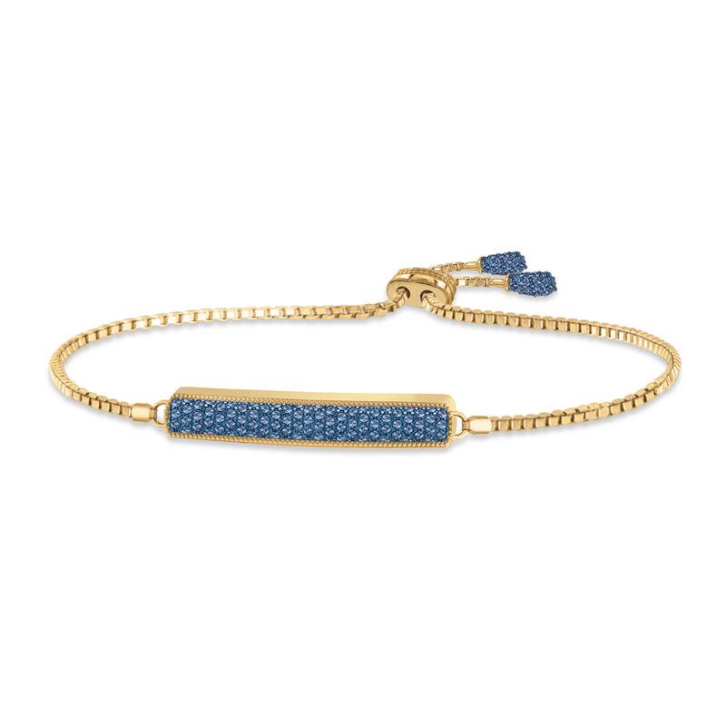 Birthstone Bolo Bracelet 6501 0027 i september