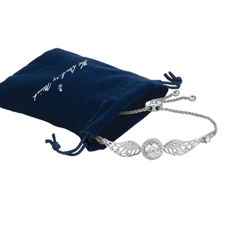 The Angel Wing Bracelet 6997 0010 g gift pouch