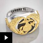 The U.S. Marine Corps Eagle Ring, , video-thumb