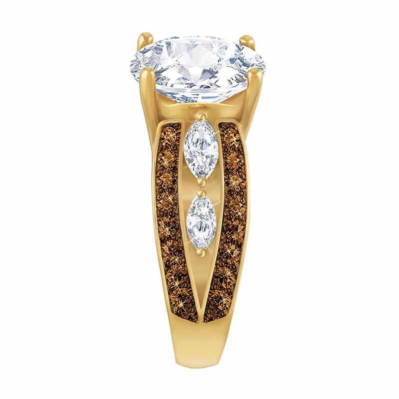 Mocha Splendor Diamonisse Ring 2111 001 0 2