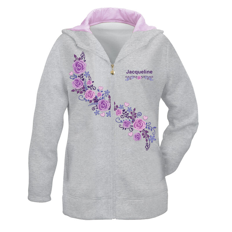 Blessed Zip Up Hoodie 6386 0019 a main
