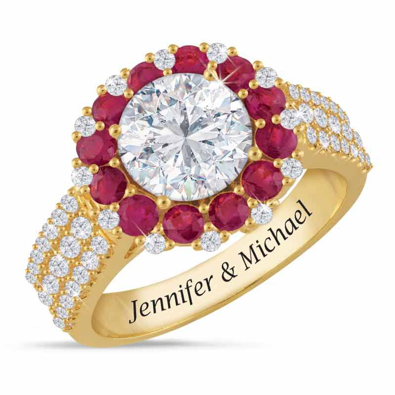 A Dozen Rubies Personalized Ring 2106 001 7 1